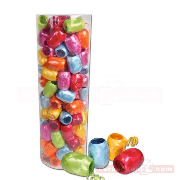 Eiknäule Glanzband - Großpackung - farbig sortiert (matt) (VE: 100 Knäule)