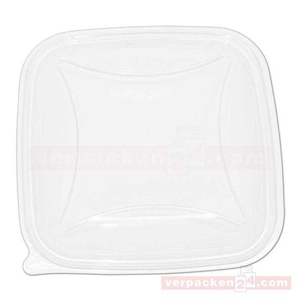 Salatschale CRUDIPACK - nur Deckel - klar, quadratisch