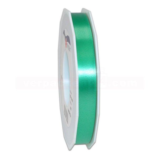 Glanzband auf Rolle 091 mtr., 15 mm - grün (607)