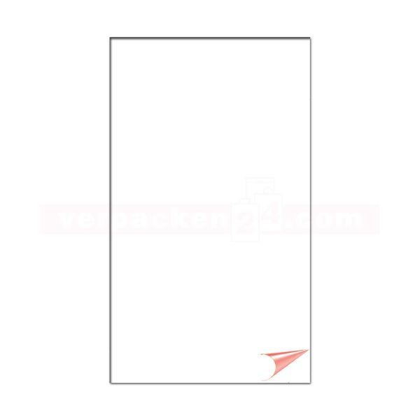 Backtrennpapier weiß - 2-seitig siliconisiert - Bögen
