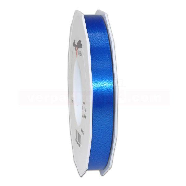 Glanzband auf Rolle 091 mtr., 15 mm - blau (614)