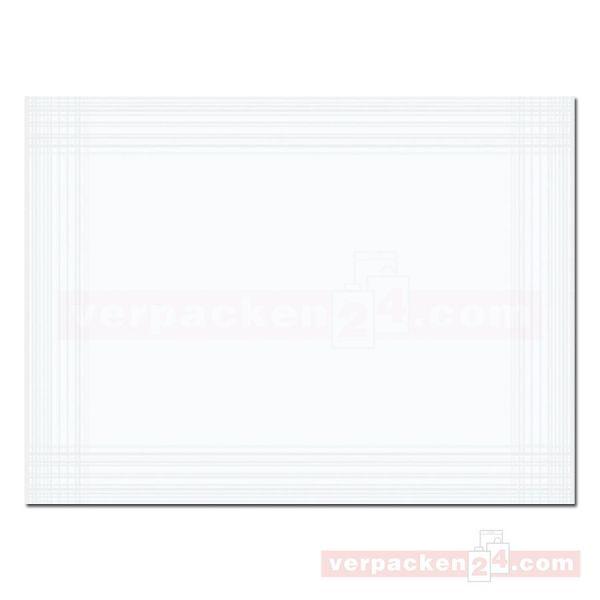 DUNI Dunicel-Tischsets Maitre, 30x40 cm - weiß