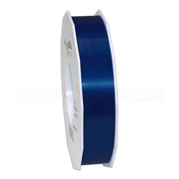 Glanzband auf Rolle 091 mtr., 25 mm - dunkelblau (624)
