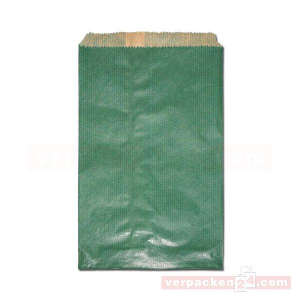 Flachbeutel (1N), Vollfläche uni grün