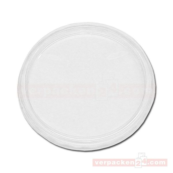 Dressingdeckel, rund, transparent PS - für Dressingbecher 50 ccm