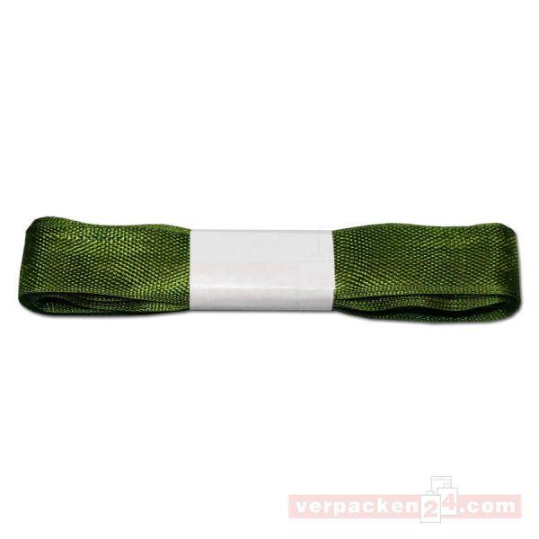 Schmuckband - Kunstseide- 15 mm, 4 mtr. - grün (621)