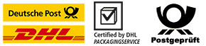 PTZ-Postgeprüft - DHL-Certified