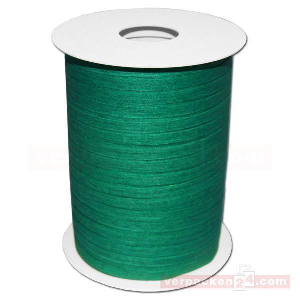 Baumwoll-Ringelband 5 mm, Rolle 200 mtr - dunkelgrün (59)
