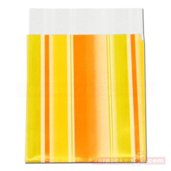 Geschenkflachbeutel, neutral 11112 - orange + gelb
