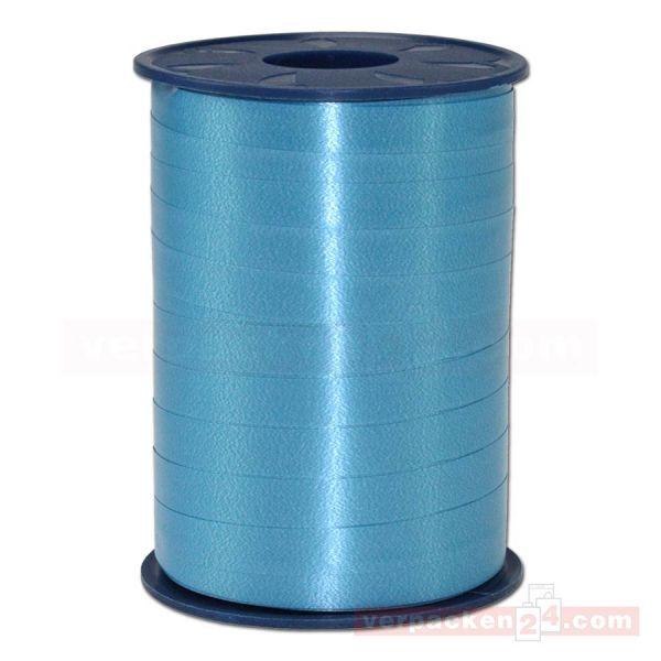 Glanzband auf Rolle 250 mtr., 9 mm - hellblau (612)