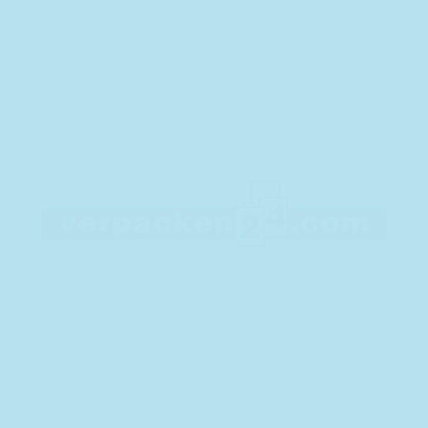 Packseiden, farbig, 26 Bögen - 1/2 Bogen - hellblau (31)
