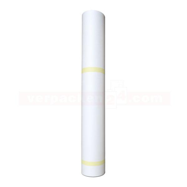 Abdeckpapier PE/PE beschichtet, weiß/weiß - auf Rolle 130 cm