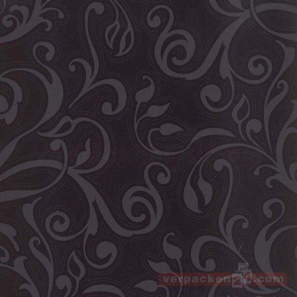 Geschenkpapier, neutral W 50692, Rolle 50 cm - Yucatan schwarz
