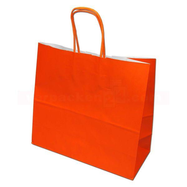 Papiertragetasche Trier FRÜHLING - orange