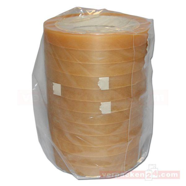 Klebeband (PVC), transparent, klar, Rolle 66 m - 12 mm