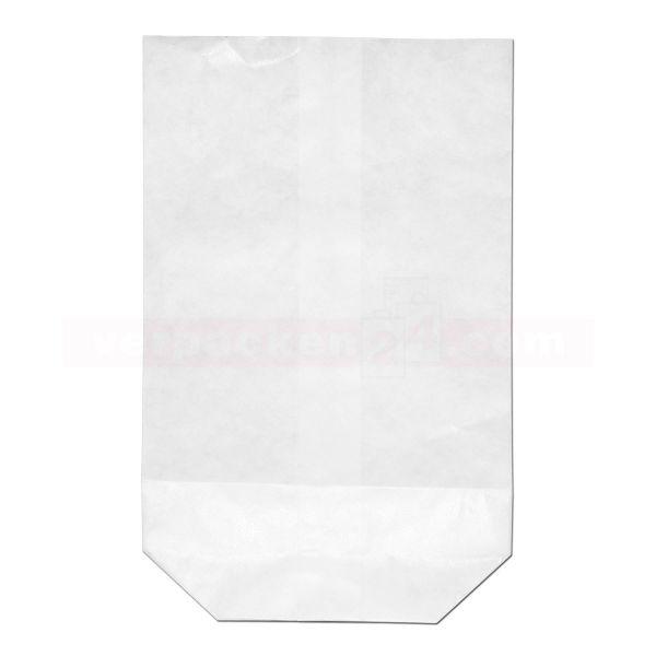 Konfitürenbeutel weiß, unbedruckt - 1/4 kg - 11x17,5 cm
